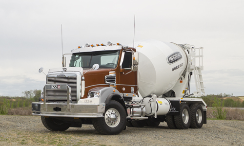 122 SD Concrete Mixer